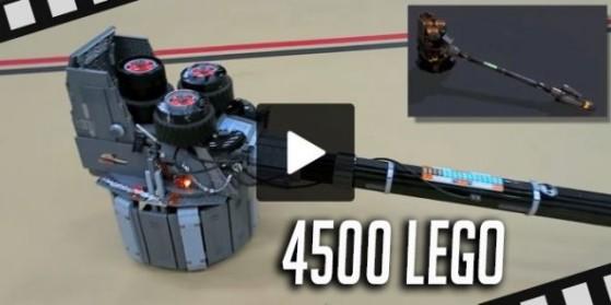 Overwatch, Marteau Reinhardt en LEGO