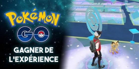 L'expérience dans Pokémon GO