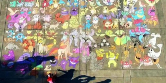 151 Pokémon dessinés dans un campus !