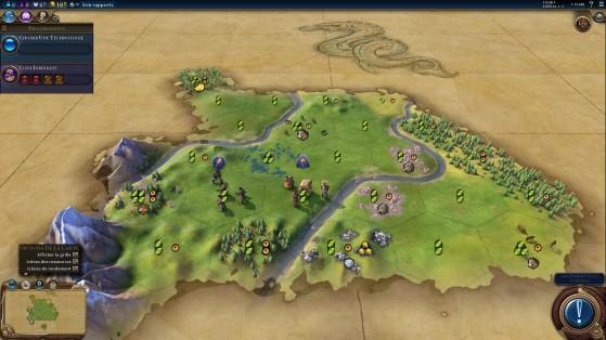 Les ressources de départ auront parfois un impact sur l'orientation de toute la partie. - Civilization 6