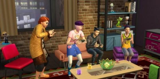 Test de Les Sims 4 : Vie Citadine, PC