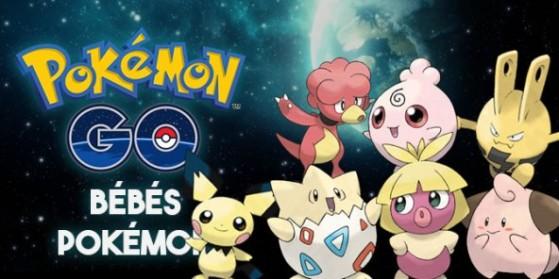 Guide bébés Pokémon GO