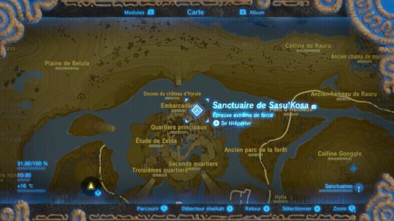 Zelda Breath Of The Wild Sanctuaire Sasukosa Millenium