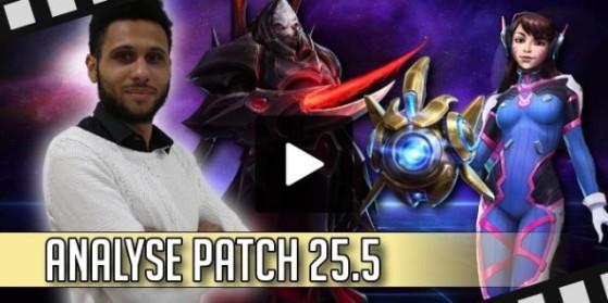 HotS Vidéo - Analyse patch 25.5