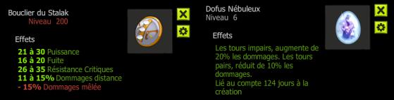 Le Stalak, comme le Nébuleux, offrent des bonus finaux - Dofus