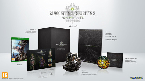 MH World : Collector, précommande
