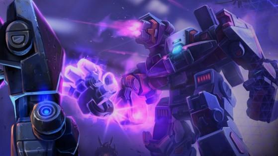 HotS Choc des héros - Robots, héros, bobos