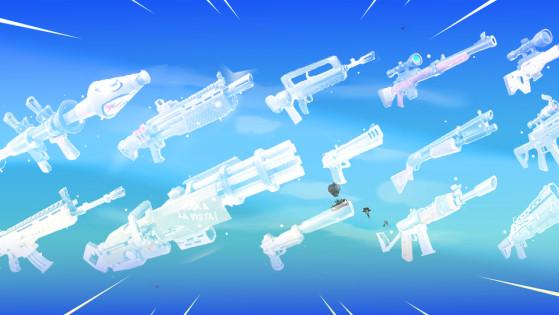 Fortnite Arme Explosive Millenium