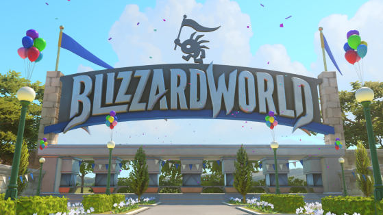 OW Carte : Blizzard World
