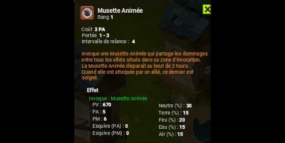 Musette Animée - Dofus