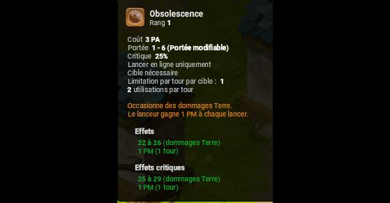 Obsolescence - Dofus