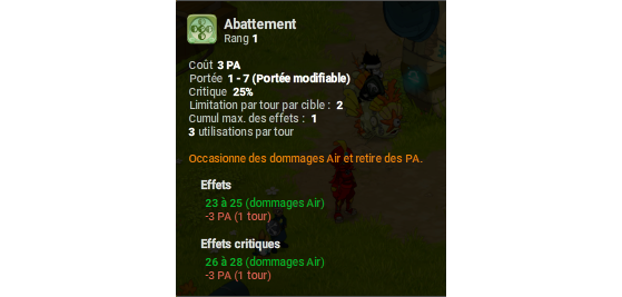 Abattement - Dofus