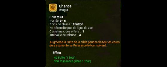 Chance - Dofus