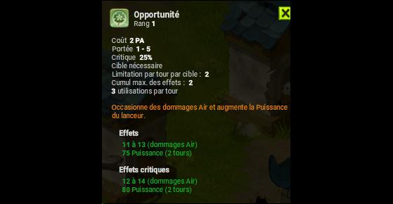 Opportunité - Dofus