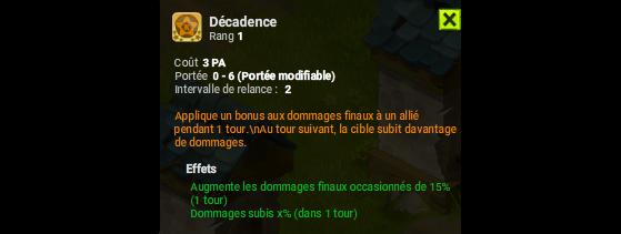 Décadence - Dofus