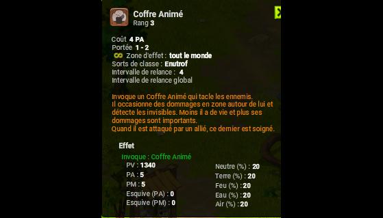 Coffre Animé - Dofus
