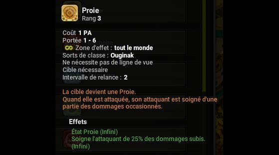 Proie - Dofus