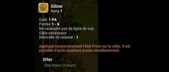 Gibier - Dofus
