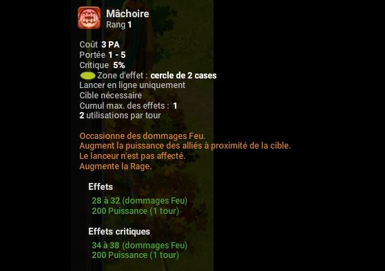 Mâchoire - Dofus