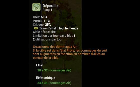 Dépouille - Dofus