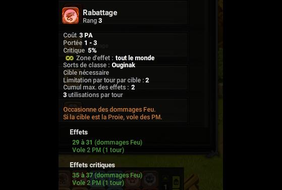 Rabattage - Dofus