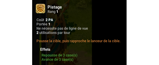 Pistage - Dofus
