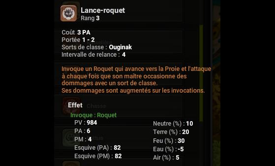 Lance-roquet - Dofus