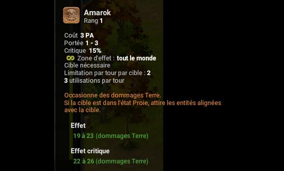 Amarok - Dofus
