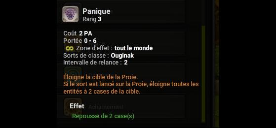 Panique - Dofus