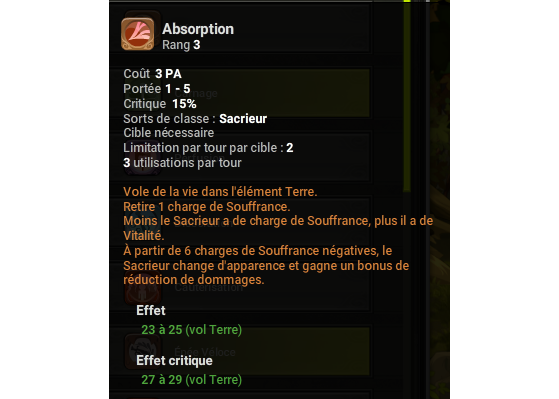Absorption - Dofus
