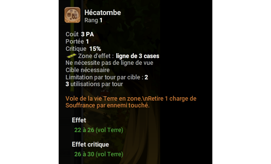 Hécatombe - Dofus