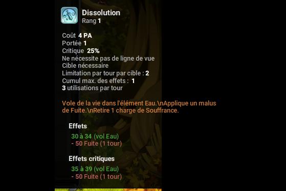 Dissolution - Dofus