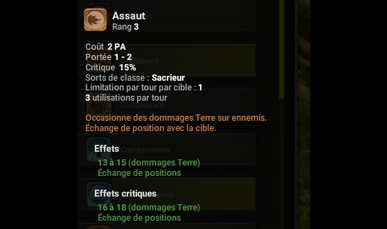 Assaut - Dofus