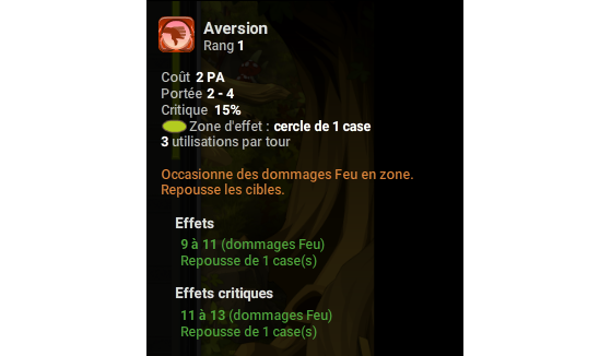 Aversion - Dofus