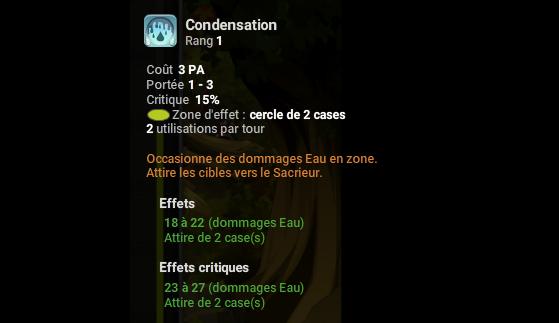 Condensation - Dofus