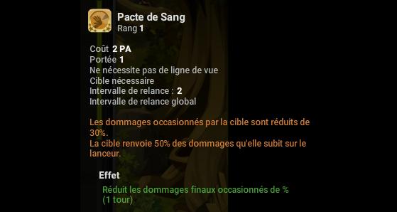 Pacte de Sang - Dofus