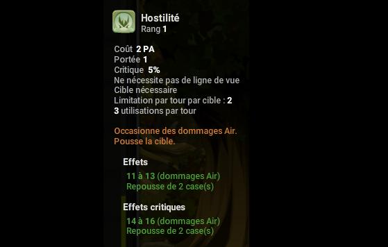 Hostilité - Dofus