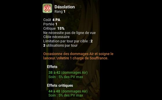 Désolation - Dofus