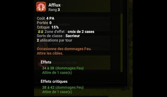 Afflux - Dofus