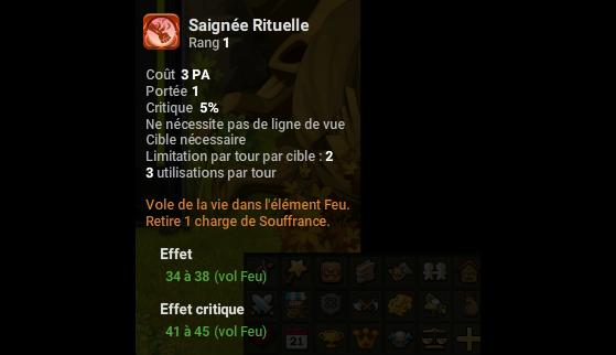 Saignée Rituelle - Dofus