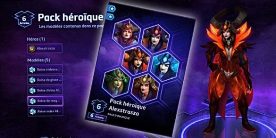 HotS - Packs lancement héros