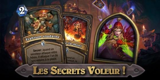 Hearthstone, les Cartes Secrets en Voleur