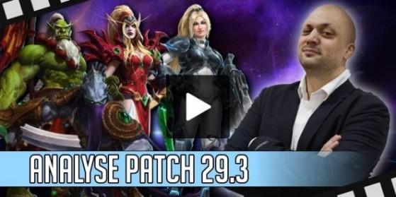HotS Vidéo - Analyse patch 29.3