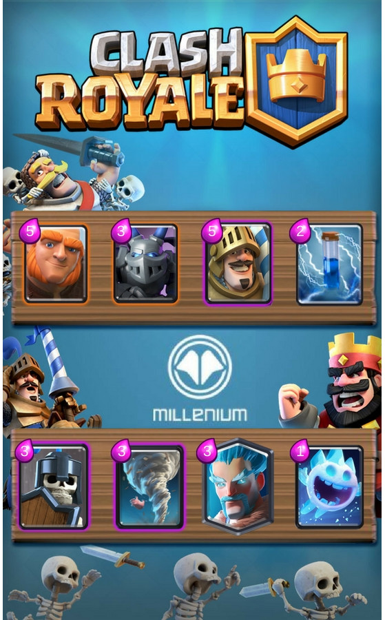 Deck g ant prince d 39 atchiin en post patch millenium for Clash royale meilleur deck arene 7