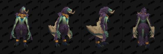 Forme de Sélénien - World of Warcraft