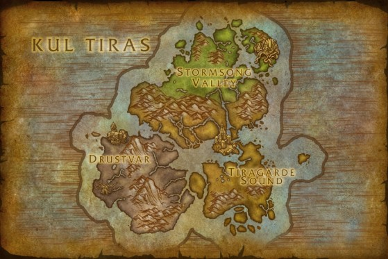 WoW : Battle for Azeroth : Kul'tiras