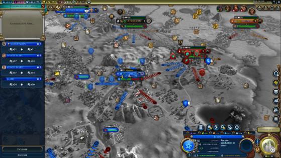 Les IA n'ont pas l'air de bien gérer la Loyauté - Civilization 6