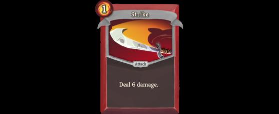 Inflige 6 de dégâts. - Slay the Spire