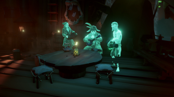Les PNJ légendaires - Sea of thieves