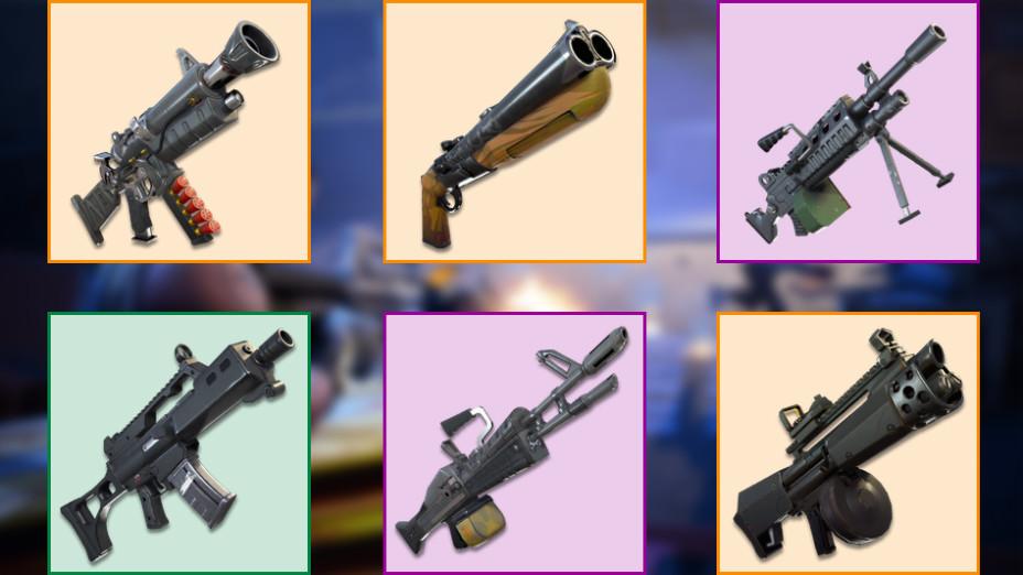Fortnite Nouvelles Armes Datamining Millenium